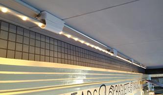 店頭照明(LEDラインタイプ)