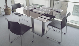 太陽光パネルテーブル
